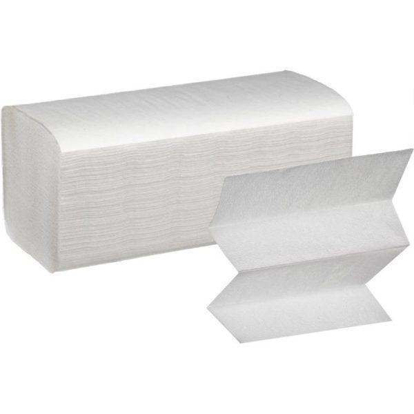 Полотенца бумажные PERO V-сложения 1 сл.