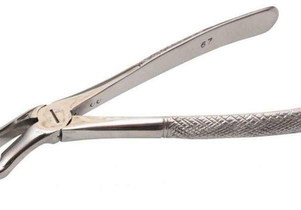 Щипцы №67 для удаления третьих моляров верхней челюсти