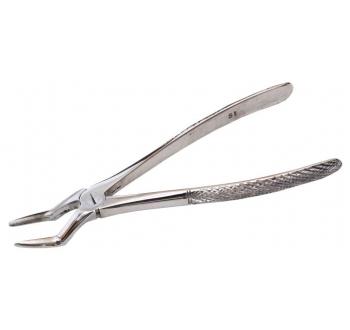 Щипцы №52 с широкими губками для удаления корней зубов, баянеты
