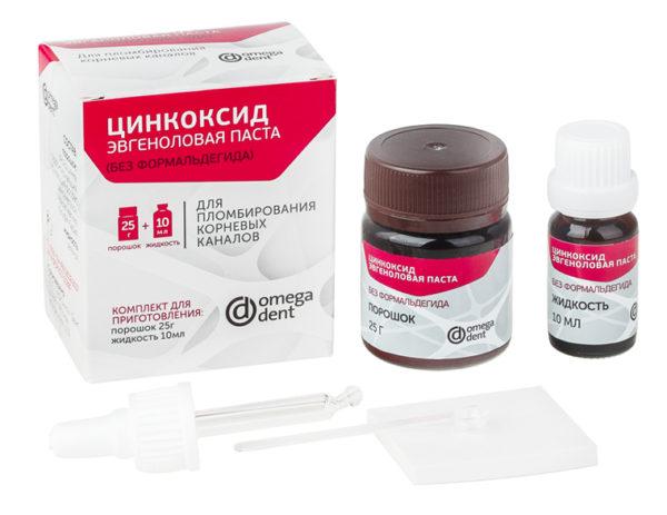 Цинкоксид эвгеноловая паста