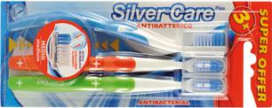 Комплект из трех зубных щеток