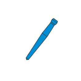 Штифты беззольные Uniclip 1мм. №110