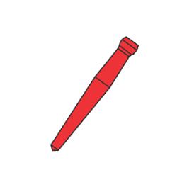 Штифты беззольные Uniclip 0,8мм. №308