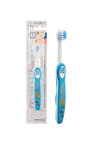 Зубная щетка PRESIDENT Baby 0-4